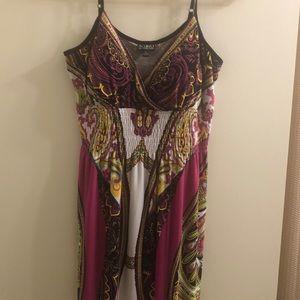 Soho apparel LTD. Maxi sundress